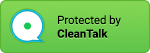 anti-spam protected logo green
